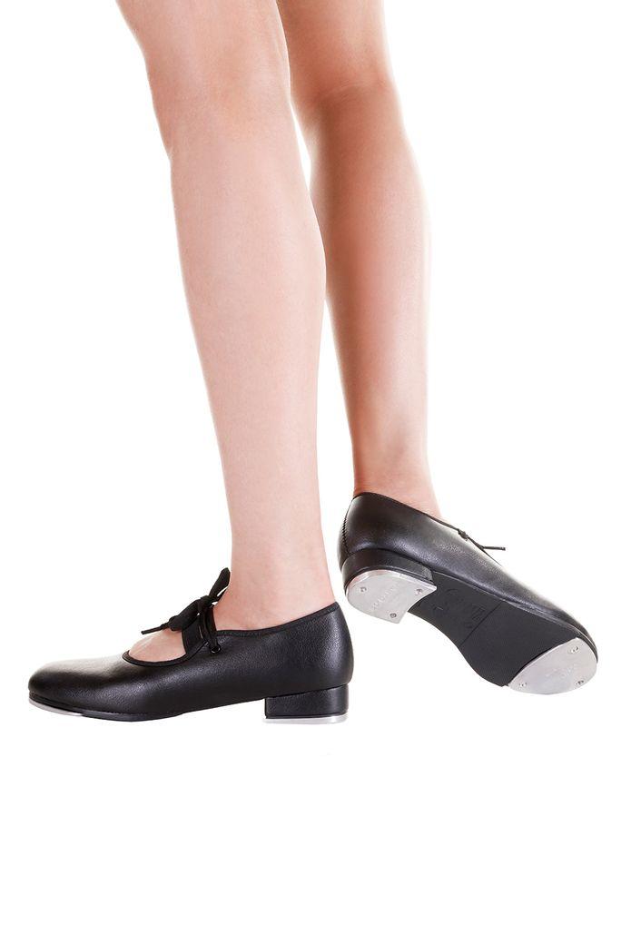 Sapato-de-Sapateado-Estudante-com-fecho-elastico---TA-33-34---Preto